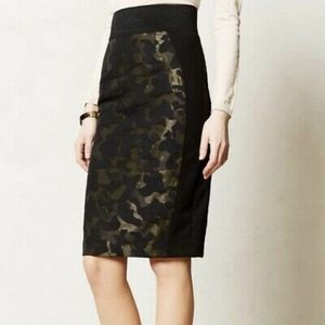 Maeve skirt size 4 camouflage pencil